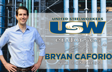 United Steelworkers Los Angeles and Orange County Legislative Education Committee Endorses Bryan Caforio