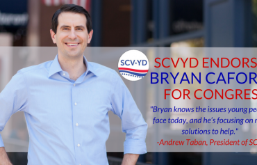 Santa Clarita Valley Young Democrats Endorse Bryan Caforio