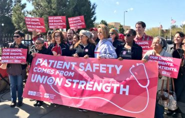 ICYMI: Antelope Valley Press: Nurses show support for union